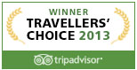 Trip Advisor Certificate of Excellence winner